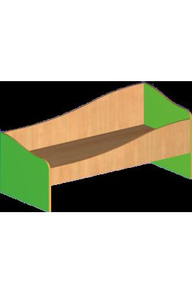 Кровать детская тип 2 (с ограждением)