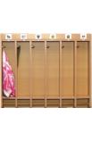 Вешалка для полотенец (с 6-ю крючками)