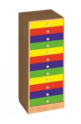 Шкаф для индивидуальных вещей (12 ящиков)
